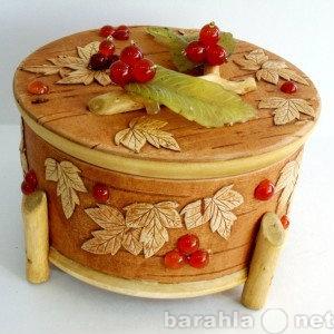 Продам Шкатулка Туесок Лесная ягода - дерево