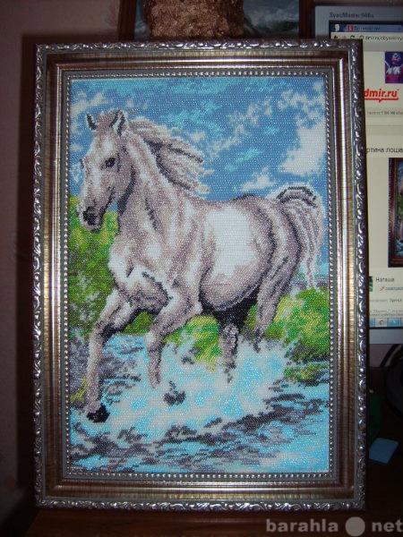 "Продам Картина  из бисера ""Лошадь"""