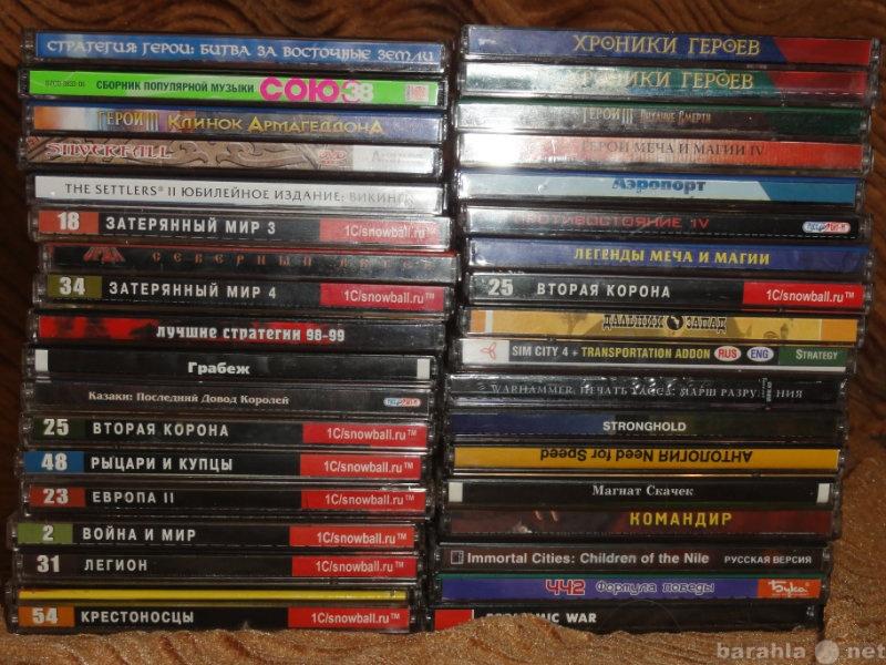 Продам Игровые диски для ПК