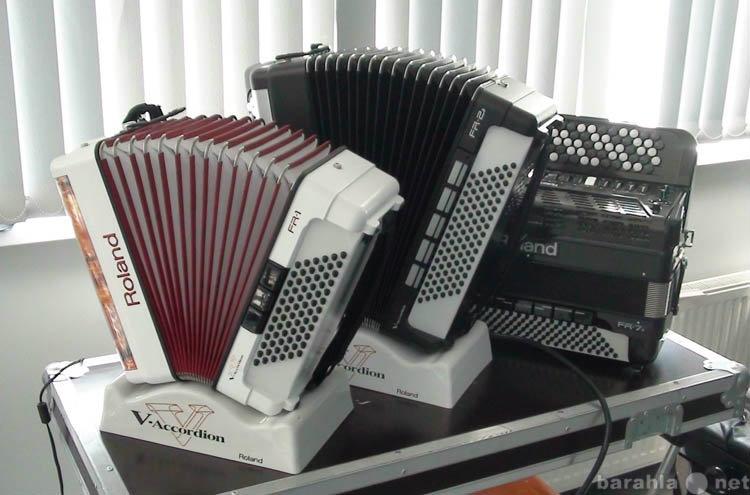 Продам Цифровые баяны, аккордеоны Roland