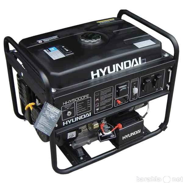 Продам бензиновый генератор Hyundai HHY5000FE