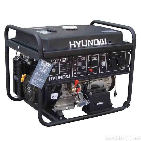 Продам Генератор бензиновый Hyundai HHY7000FE
