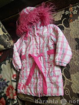Продам демисезонную куртку для девочки на рост
