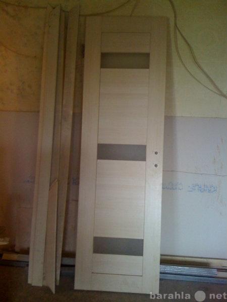 Продам межкомнатную дверь+магнитный замок