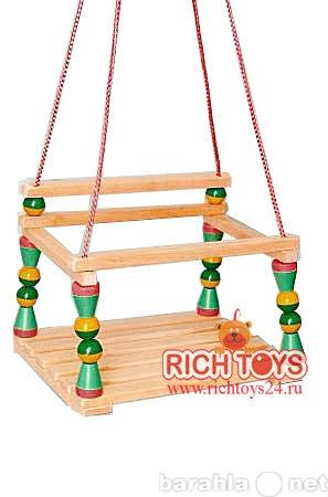 Продам качель подвесная деревянная