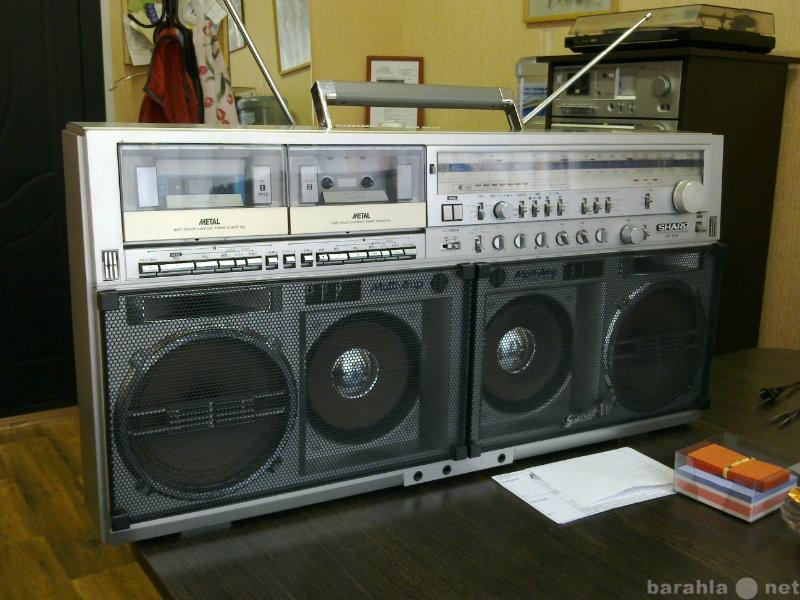 Продам ВИНТАЖНАЯ МАГНИТОЛА Sharp GF-919 Япония