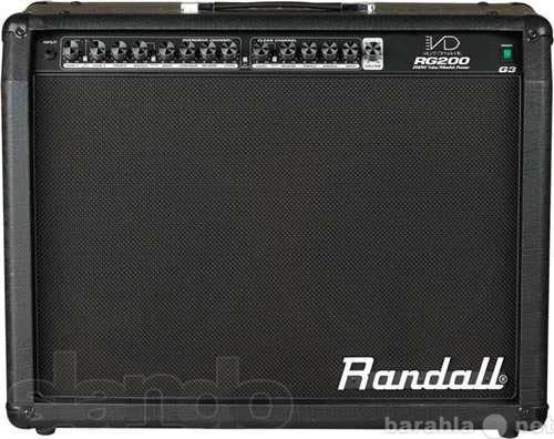 Продам ПРОДАМ комбик RANDALL RG200G3