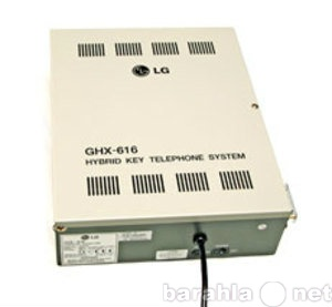 Продам АТС LG GHX-616 и сист. телефон LG GK-36