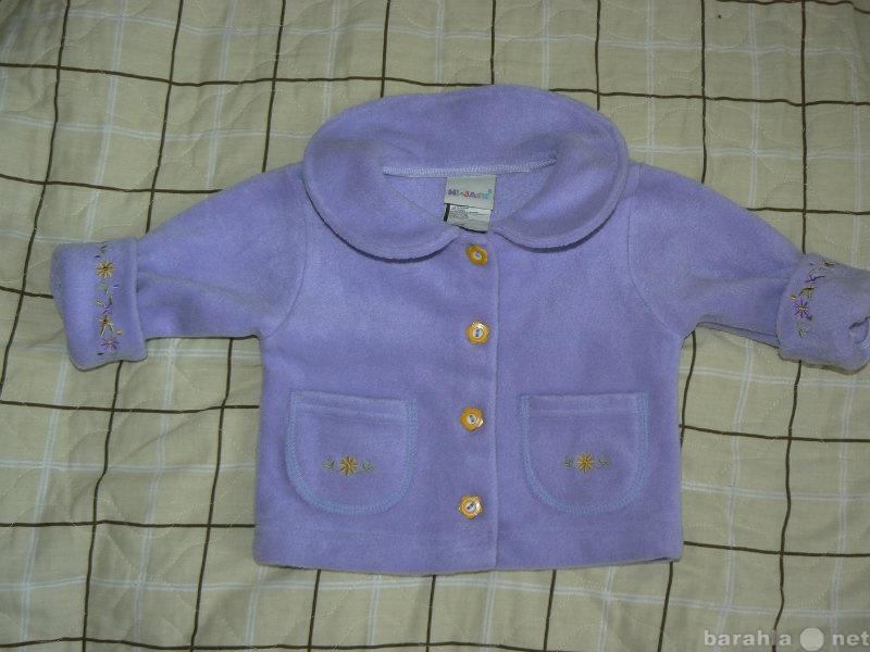 Продам курточка детская флис новая 3-6мес