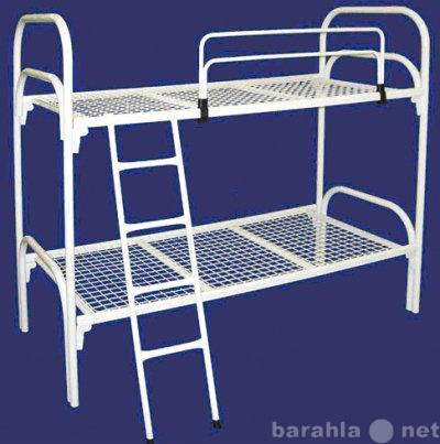 Продам металлические двухъярусные кровати