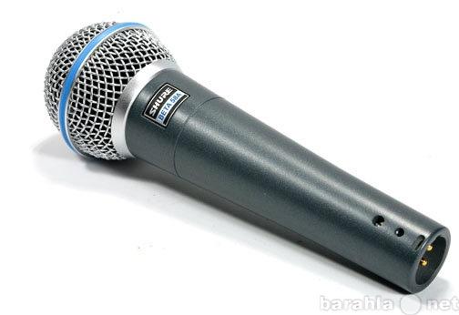 Продам МИКРОФОН SHURE BETA58A вокальный НОВЫЙ.