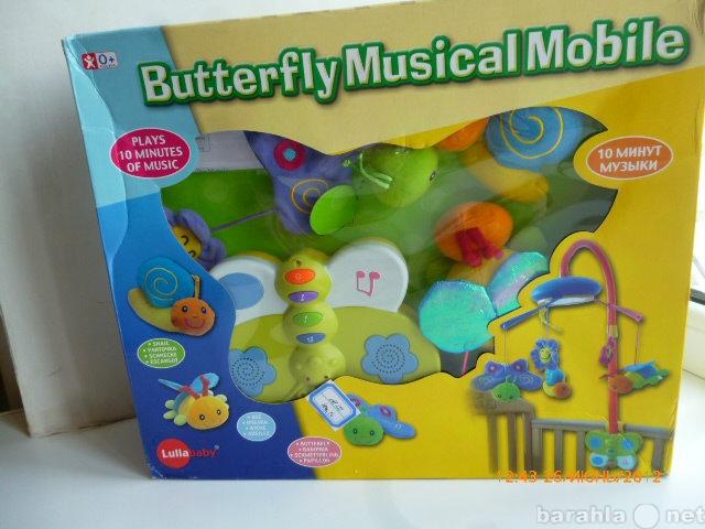 Продам Мобиль музыкальный на батарейках. Новый