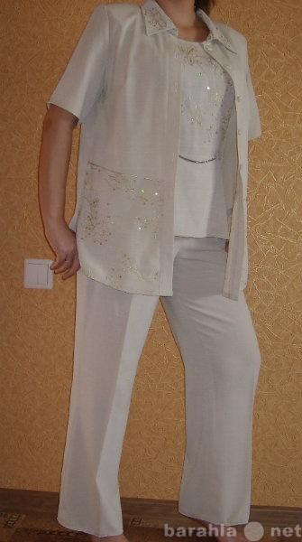 Продам Летний костюм бежевого цвета