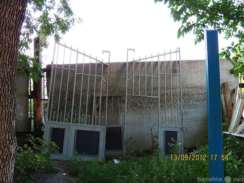 Продам: Ворота решетчатые въездные