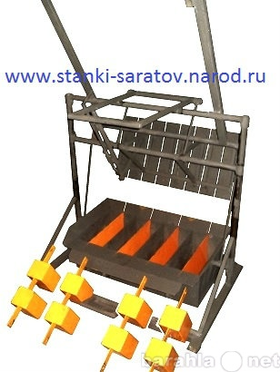 Продам Вибростанок для производства шлакоблоков