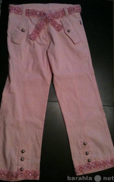 Продам Бриджи джинсовые розовые