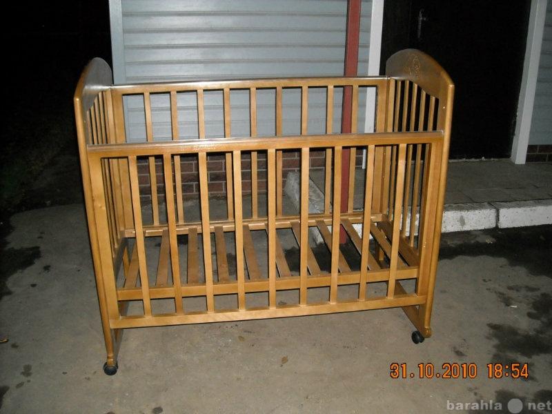 Продам Кровать радуга-1; колесо+качалка; новая;