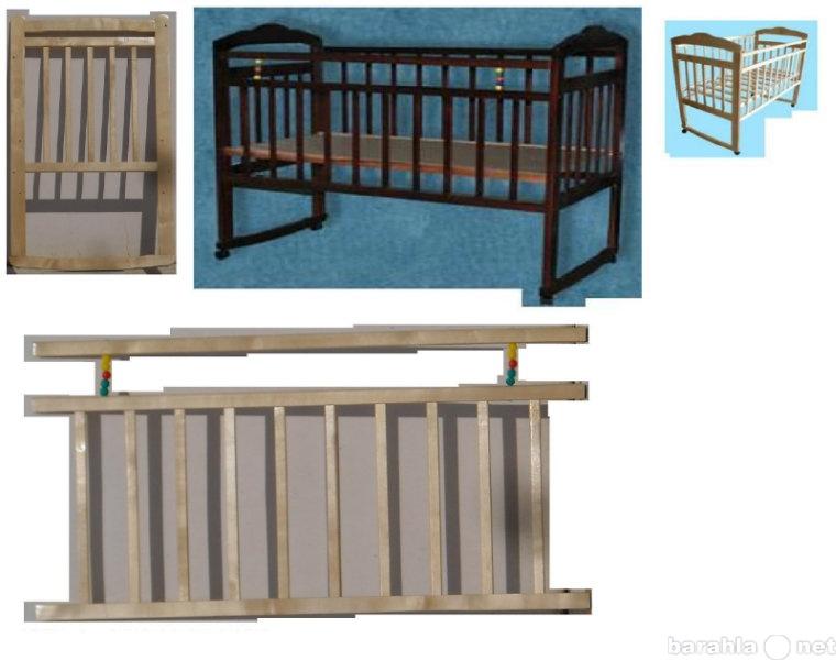 Продам Кровать Ника №2; Новая; КОЛЕСО+КАЧАЛКА