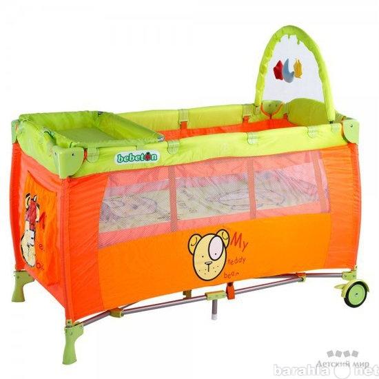 Продам детская кровать-манеж