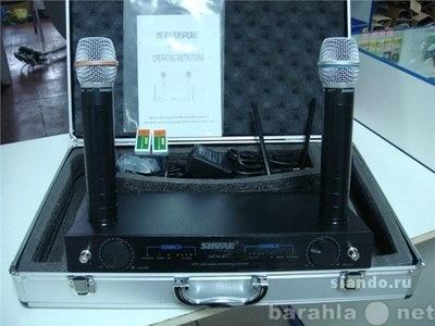 Продам Shure Beta 87 микрофонная радиосистема