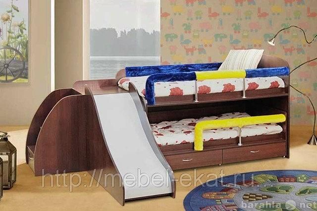 Продам Кровать с горкой №5 двухъярусная Элфис