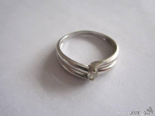 Продам Продам кольцо из белого золота