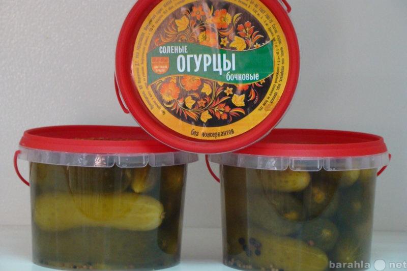 Продам Огурцы бочковые соленые