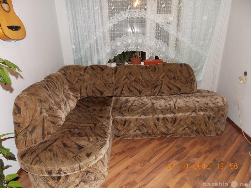 Продам Диван 2-х спальный-угловой, вместительны