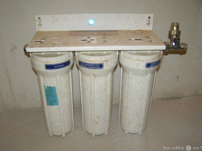 Продам фильтры для воды в кухню 3 ступени очист