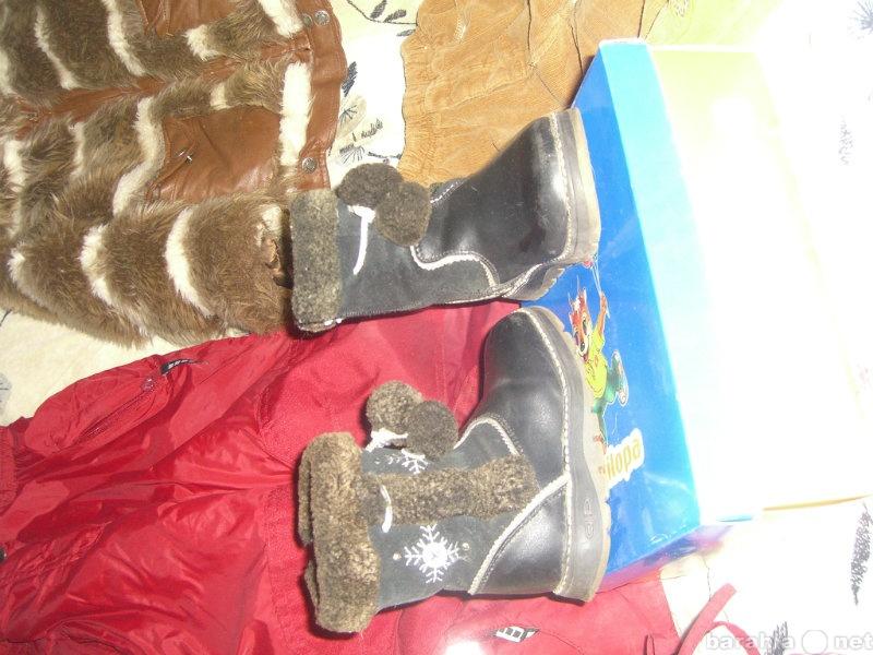 Продам сапожки нат.кожа и мех без следов износа