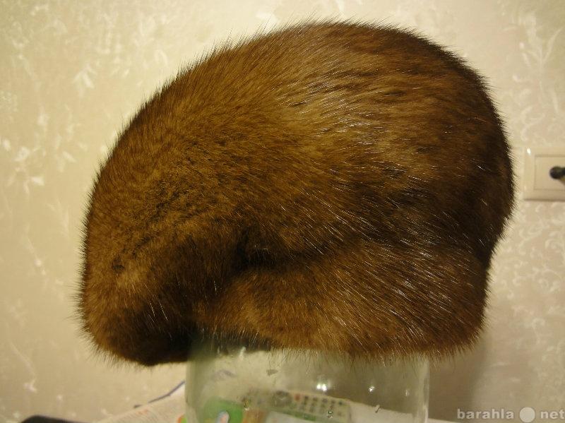 Продам Шапка женская норка коричневая,р 57-58,,