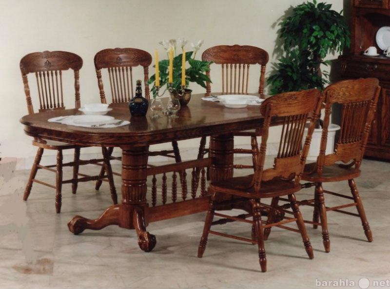 Продам Столы и стулья из дерева