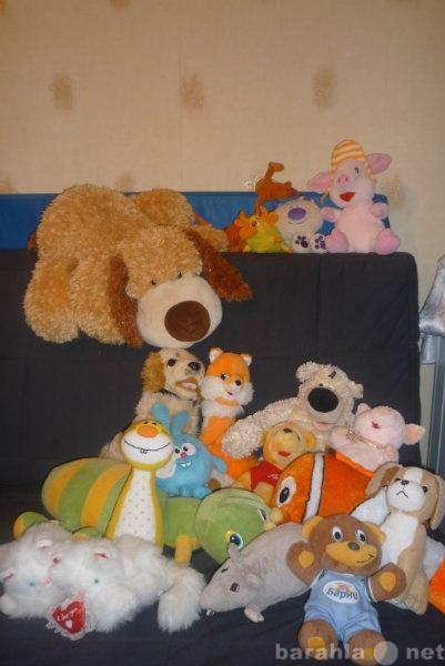 Продам мягкие детские игрушки