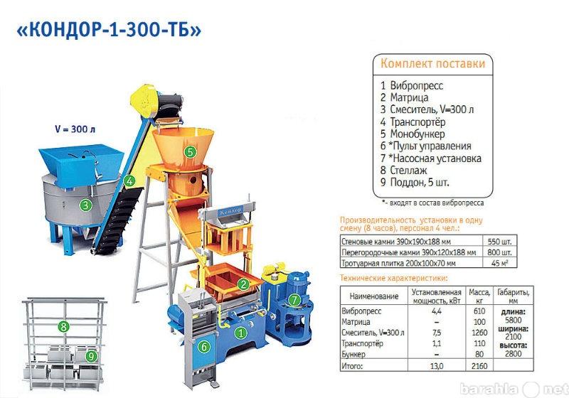 Продам Вибропрессующая установка КОНДОР-1-300