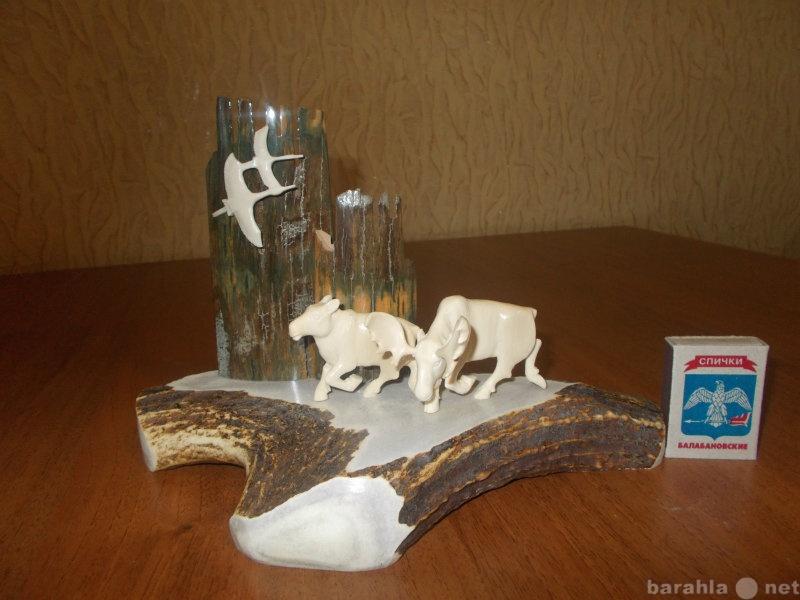 Продам: Поделки из бивня мамонта.