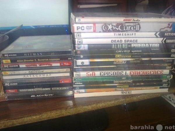 Продам Продам диски с играми. (PC) (22шт)