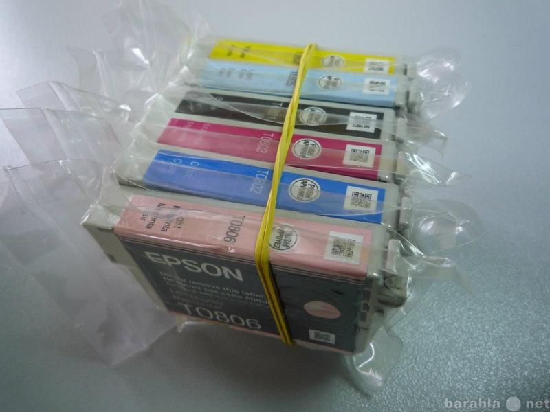 Продам: Оригинальные картриджи Epson T50, и S22