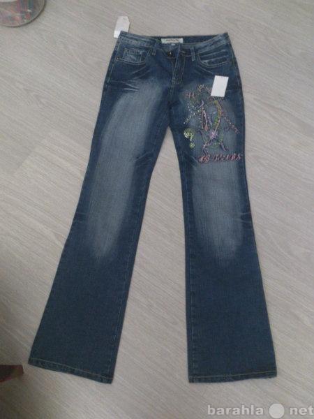 Продам джинсы с вышивкой
