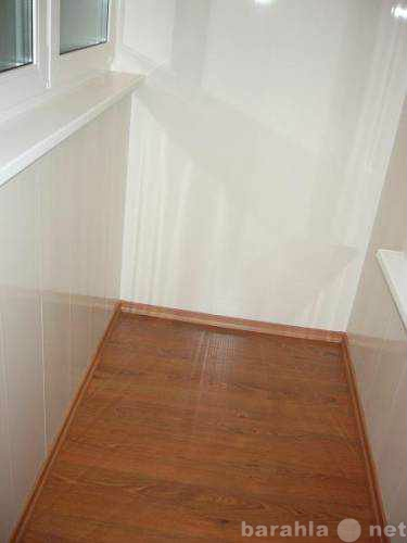 Продам Отделка балконов под ключ