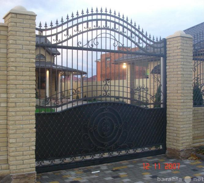 Продам Кованные ворота, калитки
