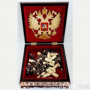 Продам: Шахматы резные в резном ларце 25 см.