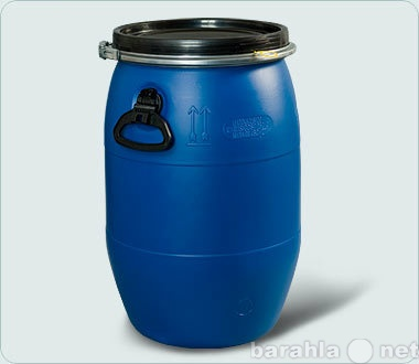 Продам продается бочка пластик 65 - 127 л б/у и
