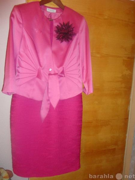 Продам Нарядное новое платье с жакетом