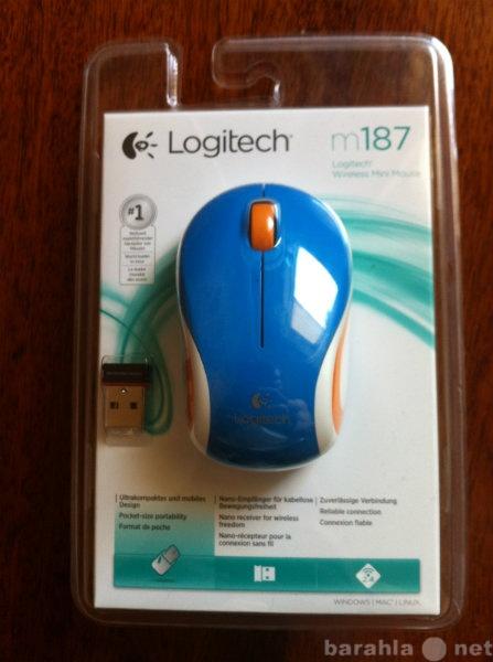 Продам: Беспроводная мышь Logitech M187