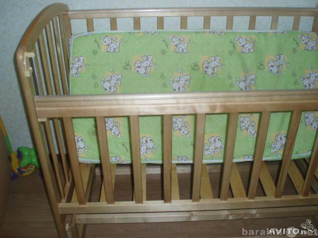 Продам Детская кроватка+аксессуары(см. внутри)