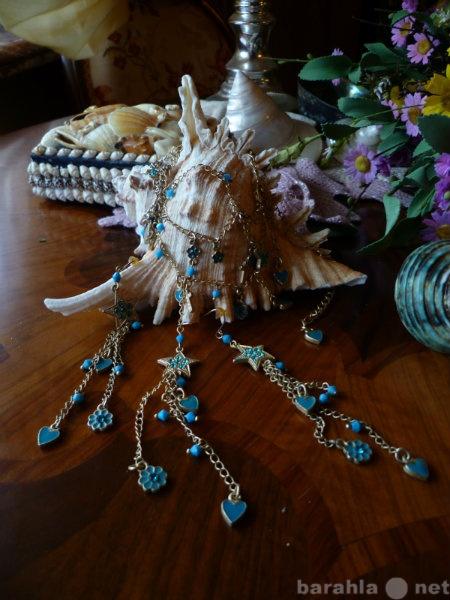 Продам Комплект украшений: длинные серьги,
