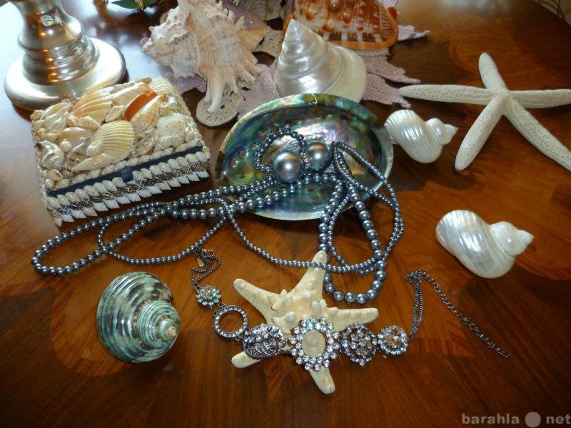 Продам Cеребристое жемчужное ожерелье