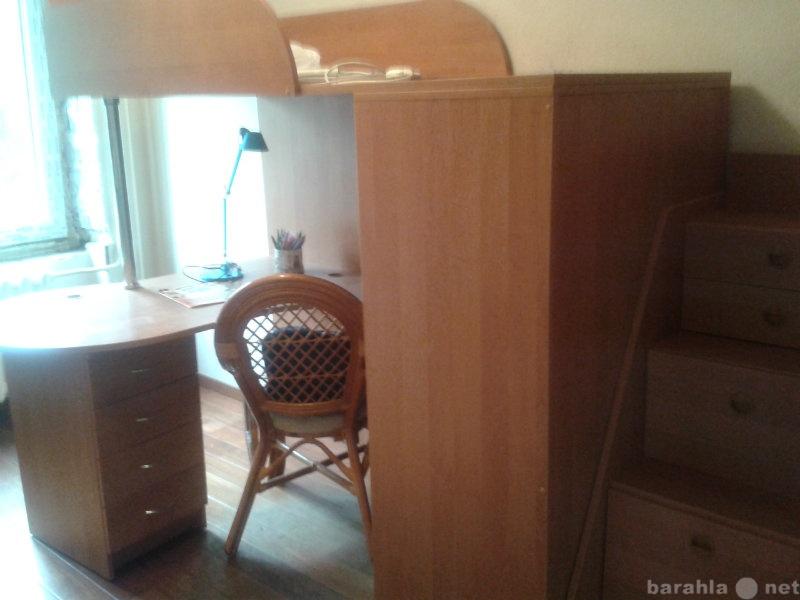 Продам Комплекс=кровать+шкаф+стол