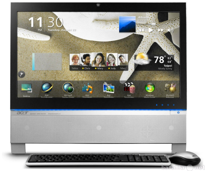 Продам: Замена ПК Acer Aspire Z3751 сенсорный мо