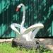 Продам Лебедь из покрышек